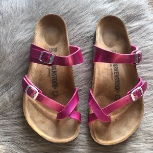 Birkenstock Mayari pink sandals 39 regular